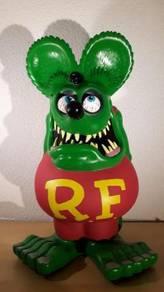 Rat Fink 60cm Tall Big Green Statue - New