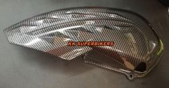 Yamaha NVX/AEROX155 Upper Engine Cover Carbon
