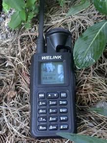 Welink m6 waterproof high power dualband walkie ta