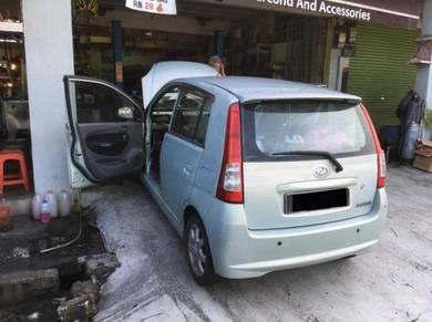 Perodua Viva Car Air Cond Service Open Dashboard