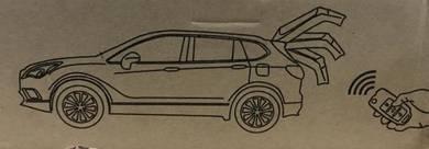 Toyota harrier power boot