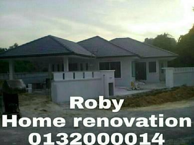 Spesialist bina rumah repair rumah lot mantin