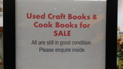 Cook, Craft, Quilting Books For Sale