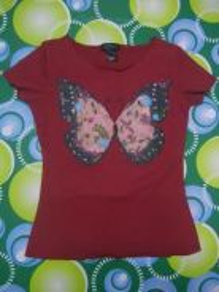Jaker 67 custo BARCELONA butterfly ladies shirt