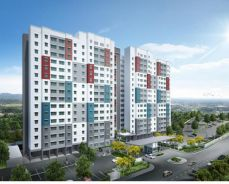 apartment in seremban 2 center perfect for investment & stay