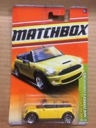 Matchbox Mini Cooper Convertible 2