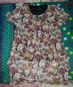 Baju rose design