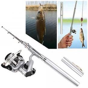Pocket Pen Fishing Rod Mini Joran Mudah Dibawa