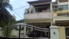 3 storey corner house for sale - Jelutong