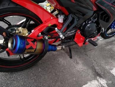 Y15ZR Akrapovic Exhaust