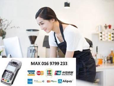 Alipay Credit card machine merchant Cup amex visa