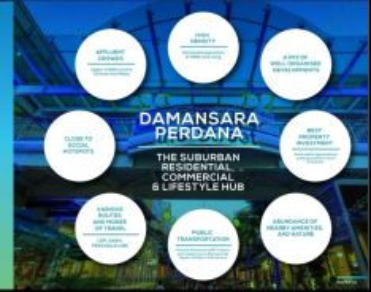 Damansara perdana office suite for sale Rm212k with 2 carparks