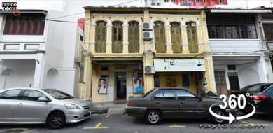 (360 VR) Kedah Rd 2 Adjoined Shophouse Side Stairscase Near Tune Hotel