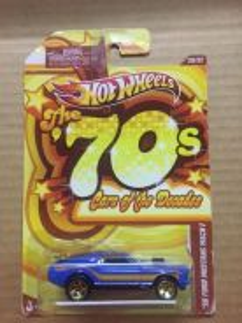 Hotwheels 70s Ford Mustang Mach 1