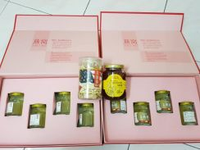 Lo Hong Ka Birds Nest, American Ginseng and Honey