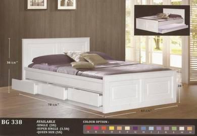 Wooden Children bed -8338