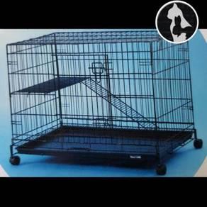 Sangkar Kucing (LARGE) 1 Level Cat Cage