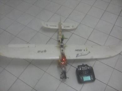 Glidar plane & flyskay remit & battery new2200 ml