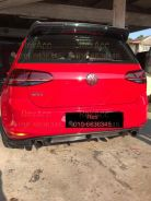 VW Golf Mk6 Mk7 Tsi Gti R Rear Diffuser Lip