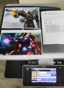 Copier ricoh mpc3002 mpc4502 copy print scan fax