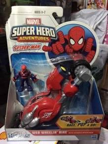Hasbro Marvel Super Hero Adventures Spiderman Web