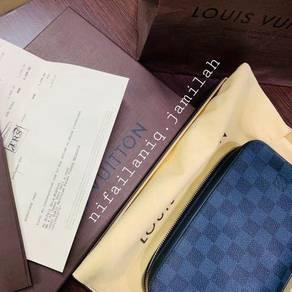 Louis Vuitton Aunthentic Damier Cobalt Clutch Bag
