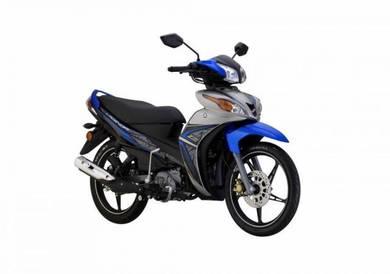 Yamaha Lagenda 115z dep320 free arc helmet