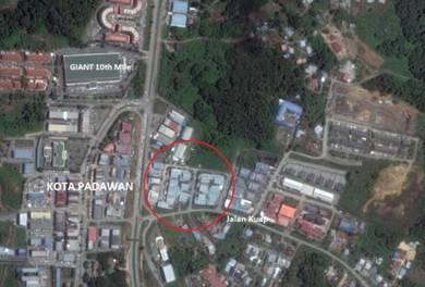 2 Units Semi-D Factory/Warehouse at Jln Kuap, 10th Mile Kuching