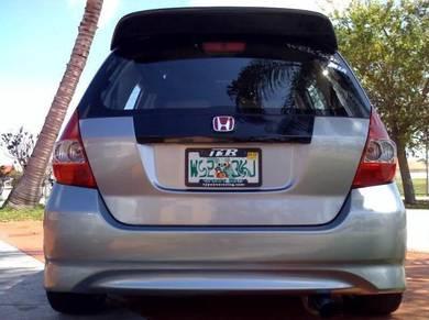 Honda jazz fit gd1 gd2 gd3 type s rear bumper