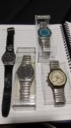 Used Original SWATCH watches (4 ea) to let go