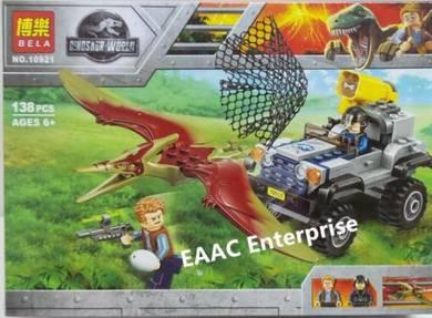 Jurassic Dinosaur World Lego Building Block 138pcs