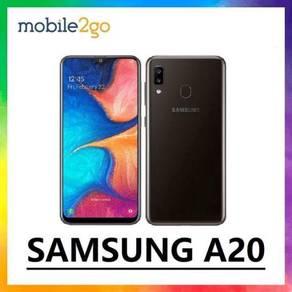 SAMSUNG A20 [3GB RAM/32GB ROM] Ori Msia Set