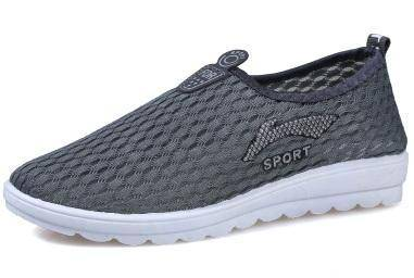 F0265 Grey Breathable Sports Casual Water Shoes