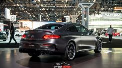MB C Class Coupe C205 AMG C63 Facelift Diffuser