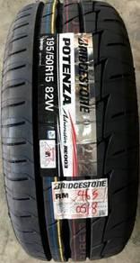 Tayar Bridgestone Re003 195 50 15 Tyre Year 2019