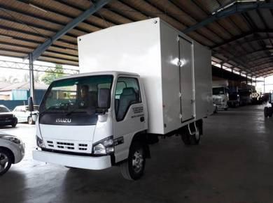 Rebuild ISUZU NPR70 Box Van with Tail Gate