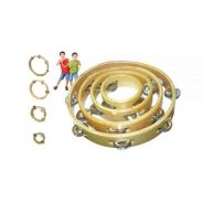 Wooden Tambourine Set (Without Skin)(Set Of 4)