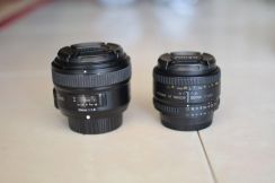 Lens Nikon 50mm f1.8D / Yongnuo 50mm f1.8N