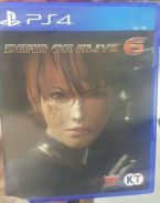 PS4 Dead or Alive 6 DOA6 ENG
