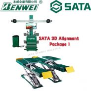 SATA 3D ALIGNMENT with 4T SCISSOR LIFT