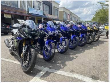 Yamaha r15 now raya offer 12200 otr last 30 unit