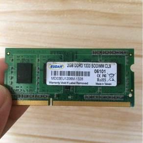 Ram 2gb DDR3 1333 SODIMM CL9
