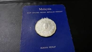Malaysia silver coin 1976-1980
