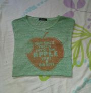 T-shirt 2 Blend 2 Kain Single Stitch