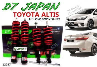 ALTIS NEW D7 JAPAN Adjustable Hi Low Body Shift
