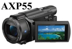 NEW Sony AXP55 4K Handycam with Built-in Projector