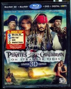 Pirates Of Caribbean On Stranger Tides 3D Blu-Ray