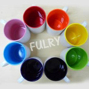 Grade A Sublimation Inner Colors Mugs with box