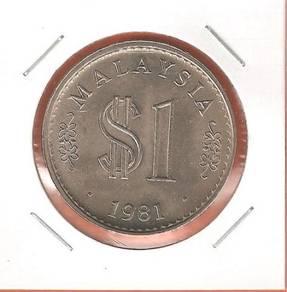 1 RiNGGIT MALAYSIA 1981 - UNC01