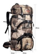 75L camouflage pattern backpack